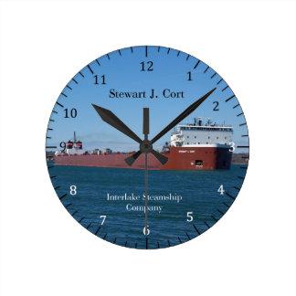 Stewart J. Cort clock