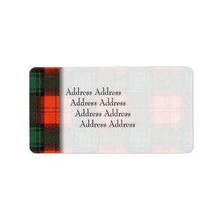 Stewart of Atholl clan Plaid Scottish tartan