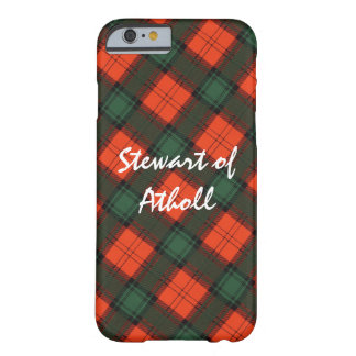 Stewart of Atholl Scottish Kilt Tartan Barely There iPhone 6 Case