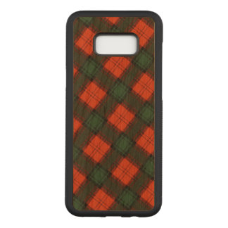 """Stewart of Atholl"" Scottish Kilt Tartan Carved Samsung Galaxy S8+ Case"