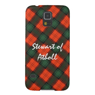 """Stewart of Atholl"" Scottish Kilt Tartan Galaxy S5 Case"