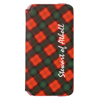 """Stewart of Atholl"" Scottish Kilt Tartan Incipio Watson™ iPhone 6 Wallet Case"