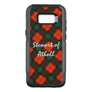 """Stewart of Atholl"" Scottish Kilt Tartan OtterBox Commuter Samsung Galaxy S8+ Case"