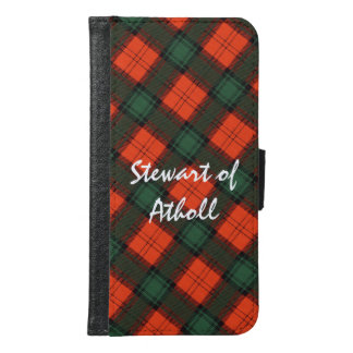"""Stewart of Atholl"" Scottish Kilt Tartan Samsung Galaxy S6 Wallet Case"