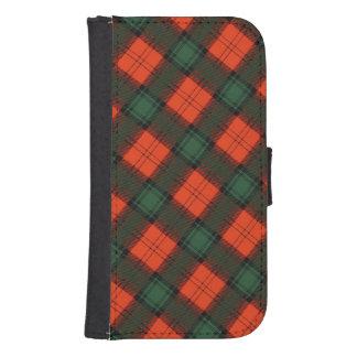 """""""Stewart of Atholl"""" Scottish Kilt Tartan Samsung S4 Wallet Case"""