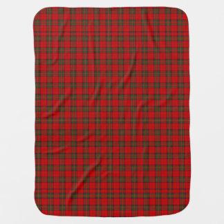 Stewart Tartan Plaid Baby Blanket