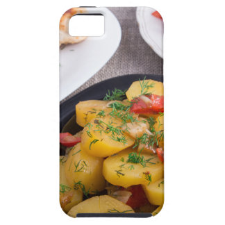 Stewed potatoes, meatballs minced chicken iPhone 5 cover