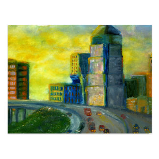 Sthreveport, Louisiana: An Abstract of Downtown Postcard