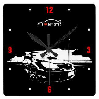STI Drift Wall Clock