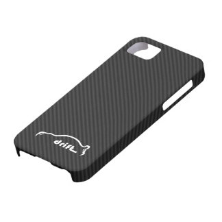 STI Impreza Drift  w/Faux Carbon FIber Background iPhone 5 Covers
