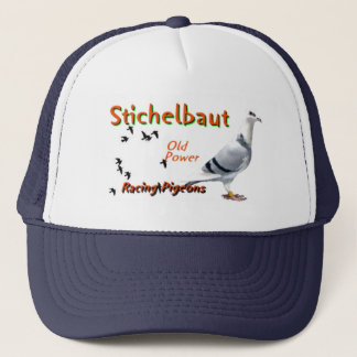 Stichelbaut  Racing pigeons Trucker Hat