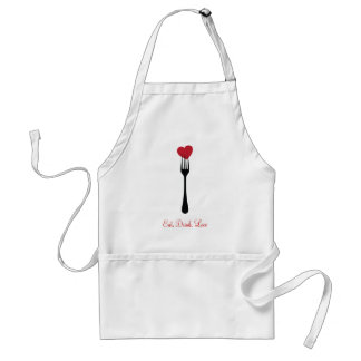 Stick A Fork in My Heart Apron
