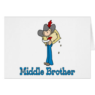 Stick Cowboy Middle Brother Cards