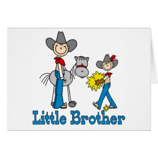 Stick Cowboys Little Brother Cards