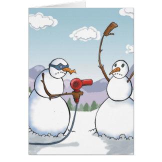 Stick Em Up Greeting Card
