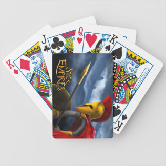 Stick Empires - Speartan Bicycle Playing Cards