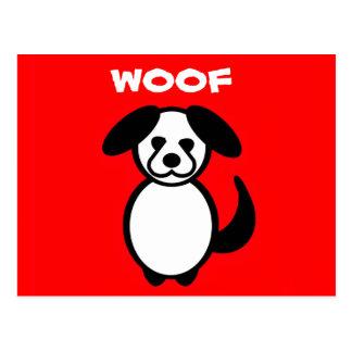 Stick Family Dog Postcard