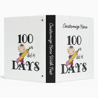 Stick Figure 100 Days Binder