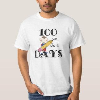 Stick Figure 100 Days Shirts