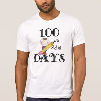 Stick Figure 100 Days T-shirt