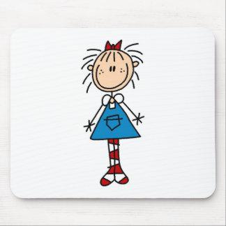 Stick Figure Annie Mousepad