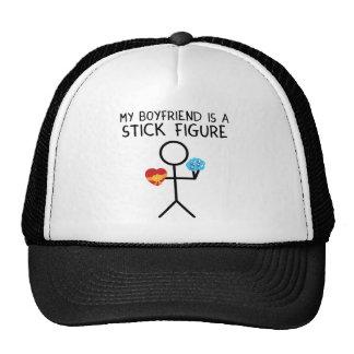 Stick Figure Boyfriend Trucker Hat