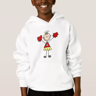 Stick Figure Cheerleader Tshirts and Gifts