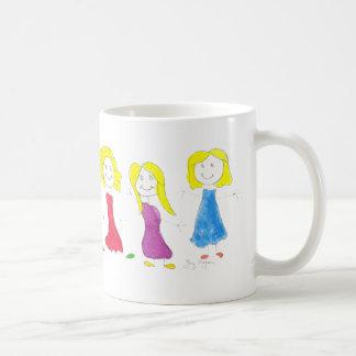 Stick Figure Children 2 Mugs & Drinkware
