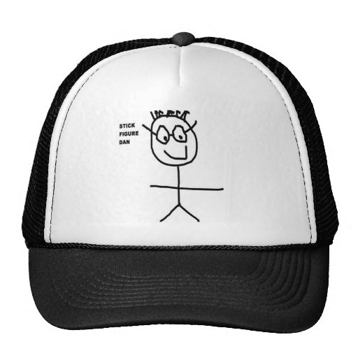Stick Figure Dan Hats