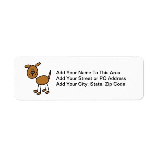 Stick Figure Dog T-shirts and Gifts