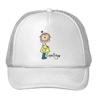 Stick Figure Expecting Baby Trucker Hat
