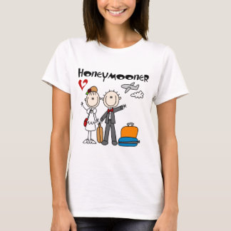 Stick Figure Honeymooner T-shirts and Gifts