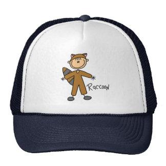 Stick Figure In Raccoon Suit Hat