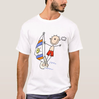 Stick Figure Parasailing Tshirts and Gifts