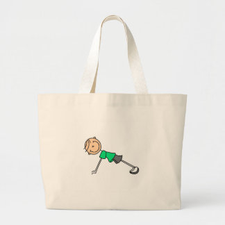 Stick Figure Push Ups Bag