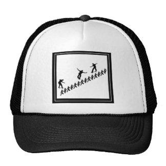 STICK FIGURE SKATEBOARD TRUCKER HAT