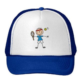 Stick Figure Tennis Hat