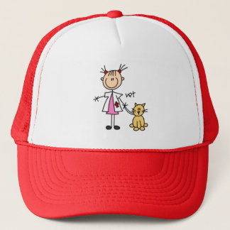 Stick Figure Veterinarian Hat