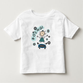 Stick Girl on Trampoline T-shirts and Gifts