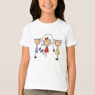 Stick Girls Jumping Rope T-Shirt