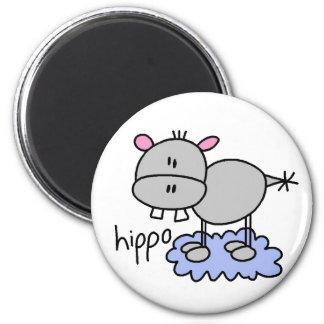 Stick Hippo Magnet