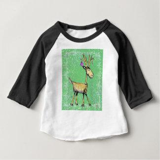 Stick Holiday Deer Baby T-Shirt