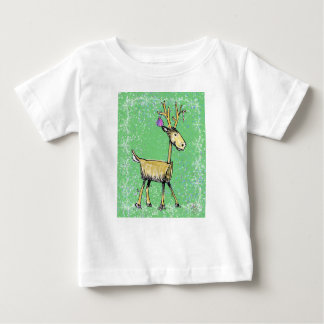 Stick Holiday Deer Baby T-Shirt