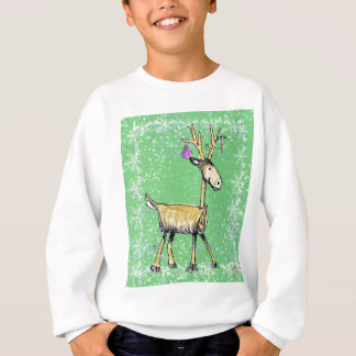 Stick Holiday Deer Sweatshirt