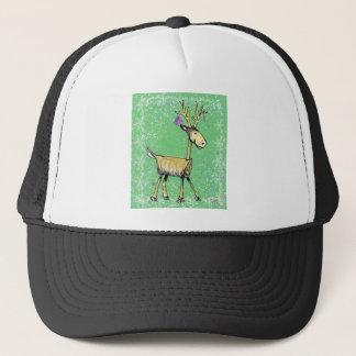 Stick Holiday Deer Trucker Hat