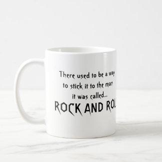 Stick it coffee mug