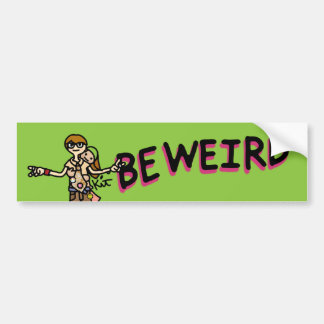 stick it on your moving machine. bumper sticker