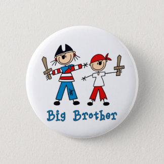 Stick Pirates Big Brother 2 Inch Round Button