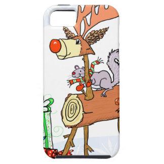 Stick reindeer iPhone 5 cases