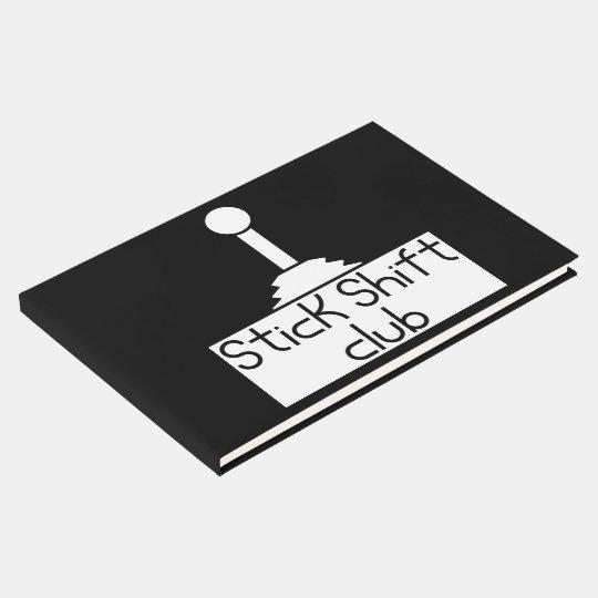 Stick shift guest book